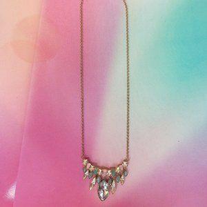 NIB Swarovski CLAW FRONTAL Necklace